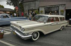 1959 Mercury Commuter Hardtop 2-Door Station Wagon