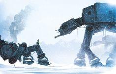 ChasingArtwork - Jedi In A Snowstorm