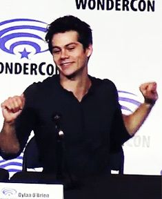 Dylan O'Brien being cute