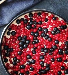 Haselnuss - Johannisbeere Kuchen - lecker-macht-süchtig