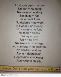 No pen=Death