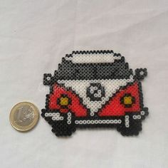 VW van hama beads by complementosgomez