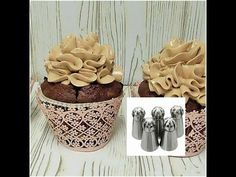 Wloski krem maslany do tortöw i nowe tylki Russian Ball Tips Ale, Cupcake, Place Cards, Piping Tips, Place Card Holders, Youtube, Food, Cupcakes, Eten