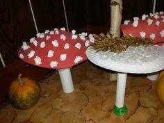 Muchomùrka a bedla Fungi, Home And Garden, Home Decor, Decoration Home, Mushrooms, Room Decor, Home Interior Design, Home Decoration, Interior Design