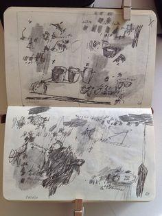 Art journal pages. Artist Sketchbook, Sketchbook Pages, Sketch Journal, Art Journal Pages, Smash Book, Banksy, Drawing Sketches, Art Drawings, Art Tumblr