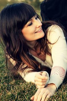 When my hair gets long again, I will do these in red =)