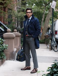 "mensstylepro: via The Style Blogger ""East Coast Prep - feat. F.E. Castleberry"""