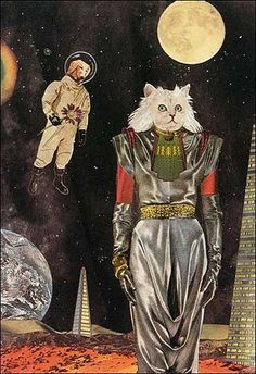 that's one chic-ass space cat.