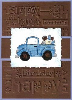 FIL Bday by Suzette Marie - Cards and Paper Crafts at Splitcoaststampers Bday Cards, Birthday Cards For Men, Handmade Birthday Cards, Boy Birthday, Vintage Birthday, Birthday Images, Birthday Quotes, Birthday Ideas, Masculine Birthday Cards