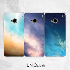Blue sky night sky phone cover for HTC one m7 m8 case by Uniqstyle, $9.99