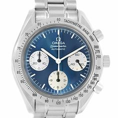Omega Speedmaster automaticselfwind mens Watch 35108200 Certified Preowned * Details can be found by clicking on the image.