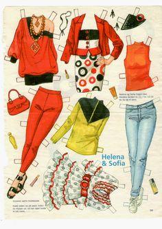 Helena og Sofia 03 tøj
