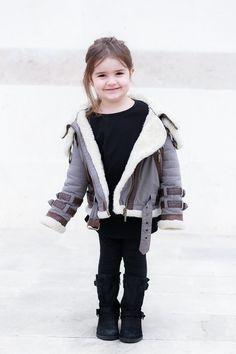 #MissKaira wearing #Burberry #kidstyling #kidsfashion #kidblogger