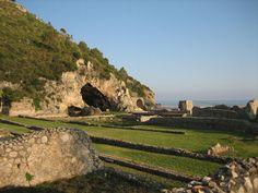 Grotto of Tiberius, Sperlonga, Italy.