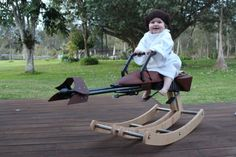 Star Wars Rocking Speeder Bike | Nerd Da Hora