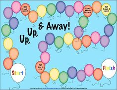 This game includes an open ended balloon themed game board and 7 sets of articulation game cards! Included sounds are: S, R, TH (voiced & voiceless), CH & SH, L, K & G, and F. Each set has 35 words with the target in initial, medial, and final positions.
