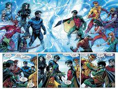 Titans and Teen Titans Titans Rebirth, Dc Rebirth, Superman Love, Batman Batman, Dc Comics, Univers Dc, New Teen, Game Character Design, Dc Memes