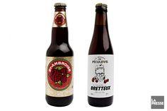 Nous vous proposons désormais deux bières à découvrir, une distribuée à plus large échelle, l'autre offerte seulement dans quelques points de vente. Cette semaine, deux bières aux fruits.