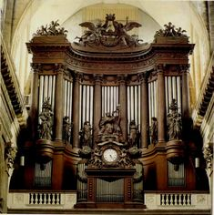 Organ of St. Sulpice  I could have spent hours listening to this organ.  Magnificant!!