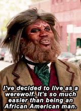 When he decided to live his life as a werewolf. | Community Post: 17 Times Titus Andromedon Lived Life To The Absolute Fullest