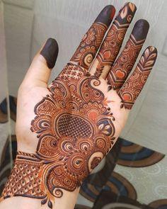 Round Mehndi Design, Floral Henna Designs, Basic Mehndi Designs, Latest Bridal Mehndi Designs, Henna Art Designs, Mehndi Designs For Girls, Mehndi Designs For Beginners, Mehndi Design Photos, Wedding Mehndi Designs