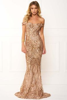 Honey-Couture-HAILEY-Rose-Gold-Sheer-Sequin-Off-Shoulder-Evening-Gown-Dress