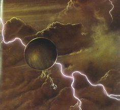 This artist's impression of a future aerobot in the Venus atmosphere was taken from a presentation at the 2010 European Planetary Science Congress meeting in Rome.