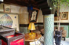 "riad marrakech -    ""Dar Najat is like being at the best chill out lounge in Marrakech"" August in Marrakech.. it's dusty, dry, it's Ramadan and we wait to see ..."