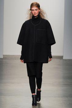 A Détacher New York 2014 F/W #Design #contemporary #Couture #Fashion #black , #white , #minimal, #simple , #aesthetic , #composition #mode #simple, #Fashiondesign