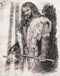 Thorin Oakenshield by *Finnguala on deviantART
