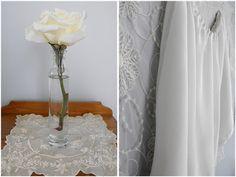 Vintage inspired bloomers & vintage lace handkerchief