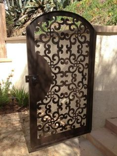 Metal Art Gate Designer Italian Wrought Iron Steel Garden Factory Direct | eBay