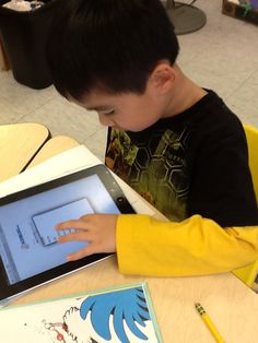 """Kidblog + Kinders!  Wow!  I know I can do this with my Firsties....""""I think I can, I think I can....""""  =)"""