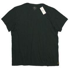 RRL ダブルアールエル 無地T チューブTシャツ【$65】 [022]