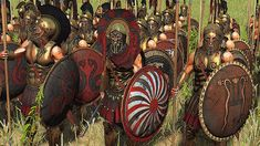Spartan Warriors Before The Battle Painting by Andrea Mazzocchetti
