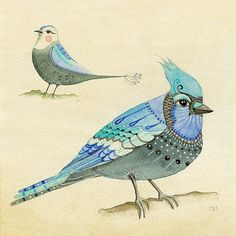 Aviary Study 2 by LilyMoon on Etsy https://www.etsy.com/listing/72541274/aviary-study-2
