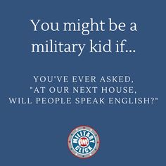 Milspousefest - The modern network for military spouses and families. Military Memes, Military Spouse, Military Life, Children And Family, Squad, Oc, Kids, Young Children, Boys