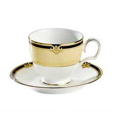 Noritake - Braidwood Tea Cup & Saucer Set - Milan Direct