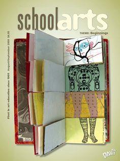 SchoolArts Magazine, August/September 2009, art education magazine for K-12 art educators, #arteducation, #arted