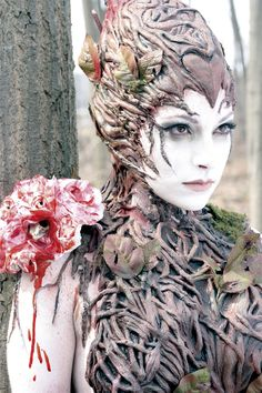 "special effects makeup | Tumblr - She looks like a Forest of Cheem tree from the Doctor Who episode ""The End of Time"""