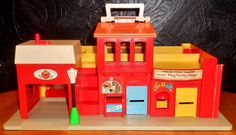VTG 1973 Fisher Price Little People Play Family Village 997 Playset | Toys & Hobbies, Preschool Toys & Pretend Play, Fisher-Price | eBay!