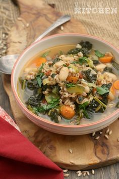 Spelt and Vegetable Soup