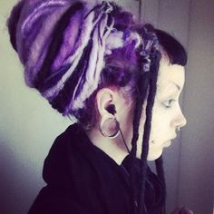 instagrammer murderotic had these sweat #dreads for a while. Super cute!