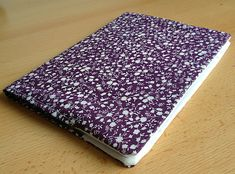 Tuto - Un protège-cahier en tissu - Modes & Travaux