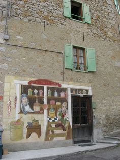 Murals in Cibiana di Cadore Veneto #TuscanyAgriturismoGiratola