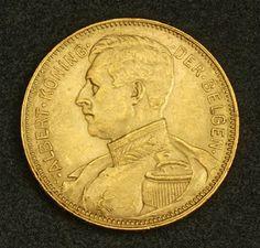 Belgian Gold Coins - 20 Francs