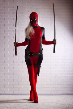 Deadpool female cosplay