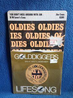 SEALED Vintage Jim Croce  You Don't Mess Around by sweetleafvinyl