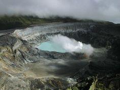 Volcán Poas, cerca de San José