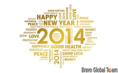 Happy New Year 2014 - Bravo Global Team